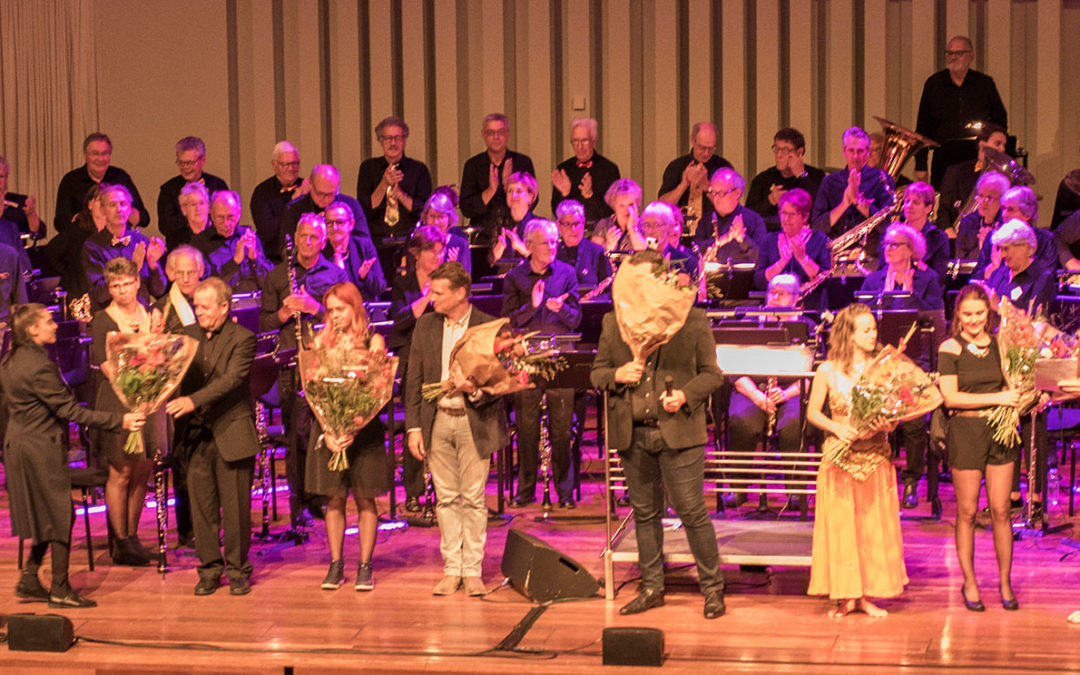 Muzikanten stralen tijdens Jubileumconcert!