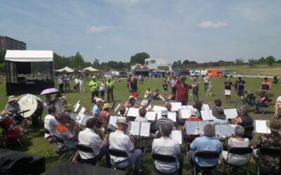 Muziek in het Spoorpark met Harmonieorkestén Opstaporkest NKH!