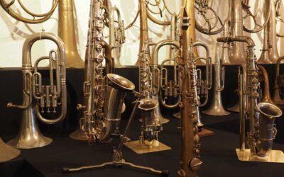 Nieuw onderkomen voor Kessels muziekinstrumenten